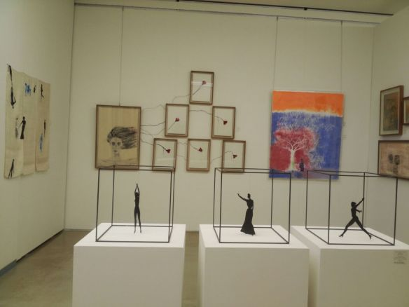 Display of my works at the Hangaram Museum of Seoul, S. Korea